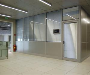aluminium Office Partitioning SMARTIA P100