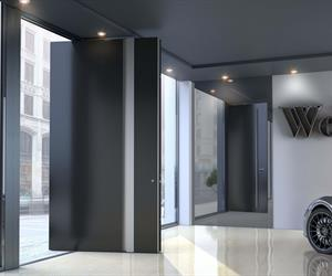 aluminium Entrance doors insulated system SUPREME SD115