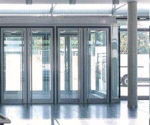 aluminium Entrance doors non insulated system SMARTIA M15000 RS