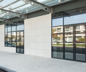 aluminium Entrance doors insulated system SMARTIA M11000