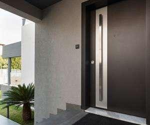aluminium Entrance doors insulated system SMARTIA MD67