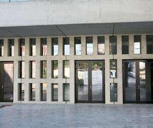 aluminium Entrance doors non insulated system SMARTIA M15000