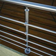 COMFORT M8100 Aluminium Railings Inox Type